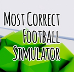 Most Correct Football Simulator V1.0